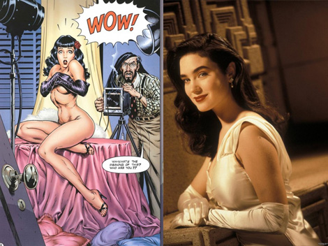 Betty/Jenny - Bettie Page, Jennifer Connolly